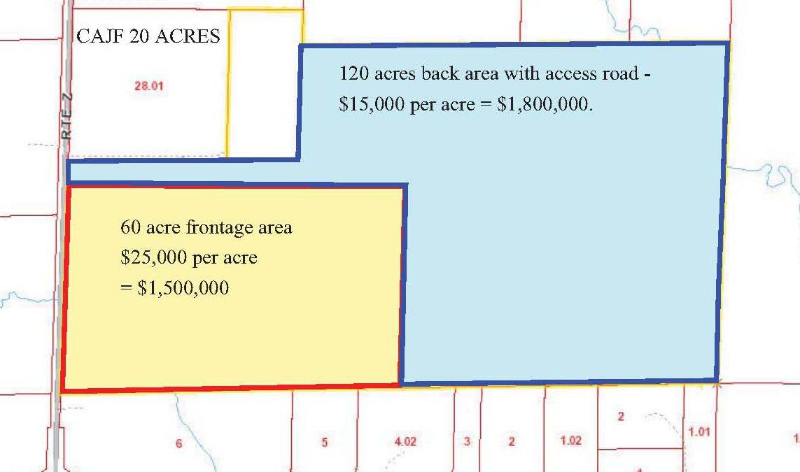 Route Z Columbia Missouri – 120 acres